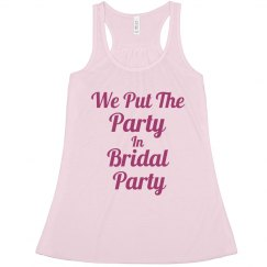 In Bridal Party Pink