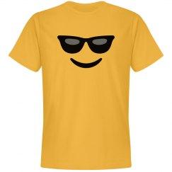 Emoji Sunglasses Face Costume