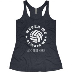 Always We Custom Volleyball Team