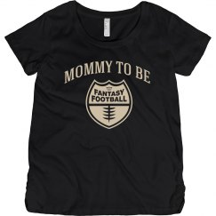 Football Mommy To Be Maternity Top