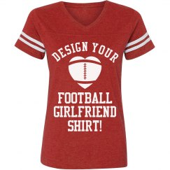 Custom Football Girl