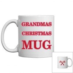 Grandmas Christmas Mug