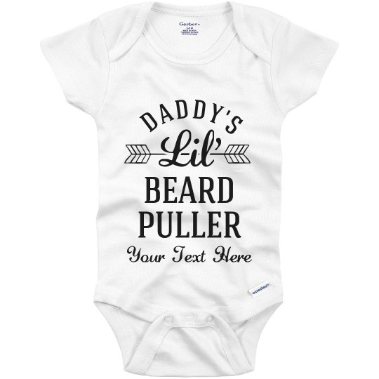 0bed91caf Daddy's Little Father's Day Baby Infant Onesie