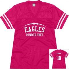 Custom Powder Puff Cheerleader Football Jersey