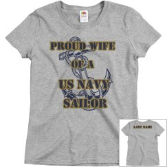 Proud Navy Wife Shirt