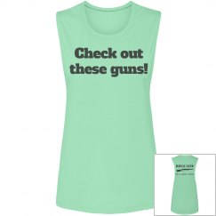 Check out these guns! / Rifle Line It's a Guard Thing