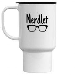 Nerdlet travel mug