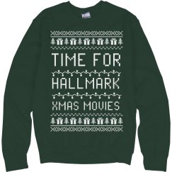 Time for Hallmark Xmas Movies
