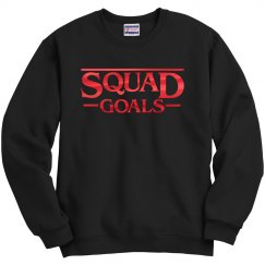 Red Metallic Stranger Squad Goals