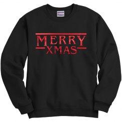 Metallic Stranger Merry Christmas