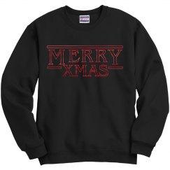 Stranger Metallic Merry Xmas