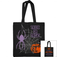 Trick Or Treat Candy Inspector bag