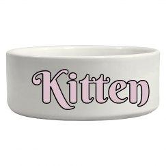 Kitten Bowl - Pink