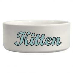 Kitten Bowl - Blue