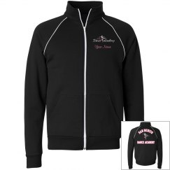 SBDA warm up jacket - unisex PINK lettering
