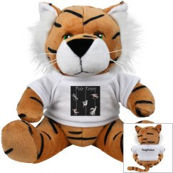 Pole Kitten tee tiger plushie