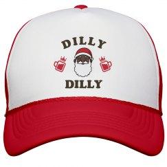 Black Santa Says Dilly Dilly