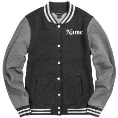 Add Your Name Custom Varsity Jacket