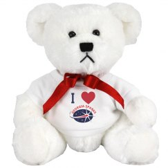 Georgia Sparks 7 INCH TEDDY BEAR STUFFED ANIMAL