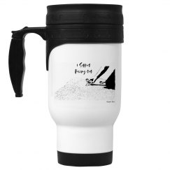 I Support Pulling Out - 14oz White Stainless Steel Mug