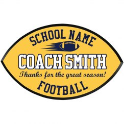 Thanks Football Coach