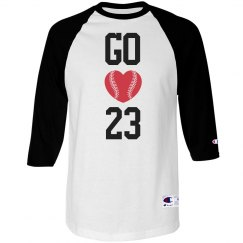Go Baseball Girlfriend Custom Baseball Shirt
