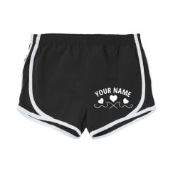 Custom Name Heart Shorts