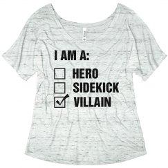 Hero, Sidekick, Villain