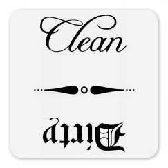 Dishwasher Dirty Clean