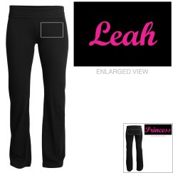 Leah, yoga pants