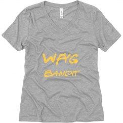 WFYG Bandit Vee Neck T Shirt