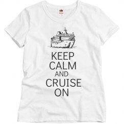 Keep calm cruise on