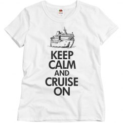 Keep calm cruise on