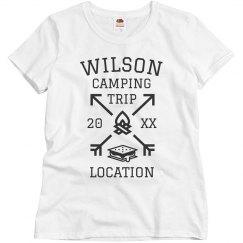 Custom Family Camping Trip