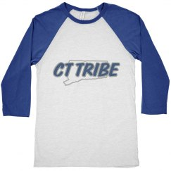 CT Tribe State Baseball Tee (unisex)