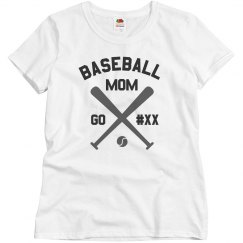 Personalized Baseball Mom
