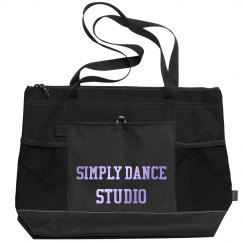 Zippered Tote Bag