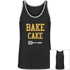 Bake Cake Mens Vest
