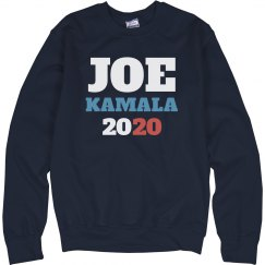 Joe and Kamala 2020 Election Sweatshirt