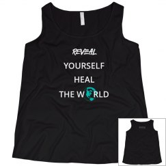 REVEAL Yourself Scoop Neck Plus Size Tank