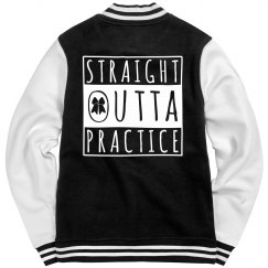 Straight Outta Cheer Jacket