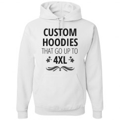 Custom 4XL Hoodies