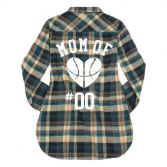 Custom Basketball Mom Plaid