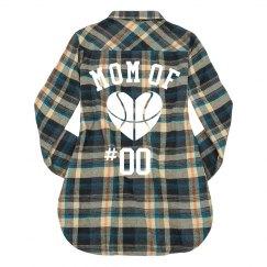 Custom Basketball Mom Plaid