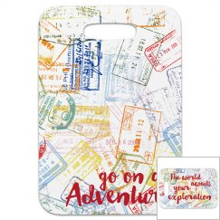 Go on an Adventure Luggage Tag