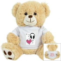 Music Heart Tiger