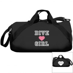 Dive girl