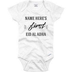 Custom Baby's First Eid Al Adha Onesie
