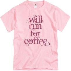 Will run for coffee