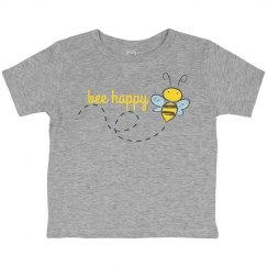 Bee Happy Kids Shirt